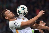 رم همچنان صدر نشین گروه c لیگ قهرمانان فوتبال اروپا