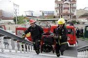 آماده باش 100 آتش نشان سنندجی برای چهارشنبه آخر سال