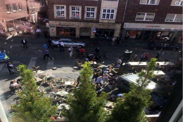 تدابیر امنیتی در مونستر هلند برقرار شد