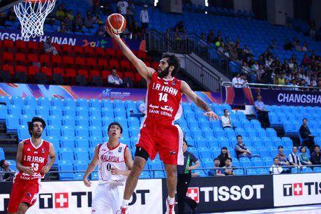 پیروزی مقتدرانه بسکتبال ایران در زمین و برابر قزاقستان