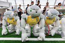 ربات های انسان نمای امیرکبیر تیم آلمان را شکست دادند