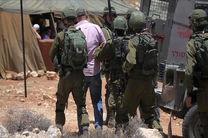 بازداشت 7 فلسطینی در حملات شبانه رژیم صهیونیستی به کرانه باختری