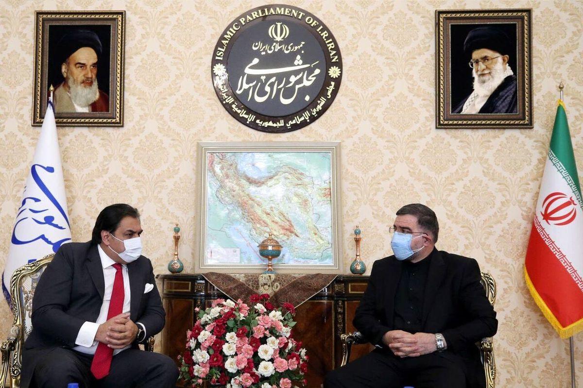 دیدار امیرآبادی فراهانی با سفیر پاکستان در تهران