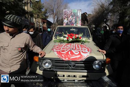 تشییع پیکر ۴ شهید تازه تفحص شده دوران دفاع مقدس در اصفهان