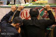 پیکر شهید سردار اسماعیل کرمی در خمینیشهر تشییع شد