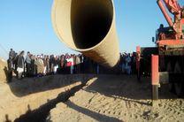 هزار هکتار از طرح آبرسانی دشت سیستان به بهره برداری می رسد