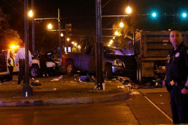 حمله به یک مراسم در نیواورلئان آمریکا 28 زخمی برجا گذاشت