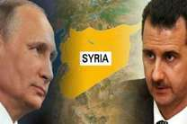 پوتین سالروز استقلال سوریه را به بشاراسد شادباش گفت