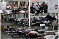 اهدای خون توسط کارکنان مخابرات منطقه اصفهان