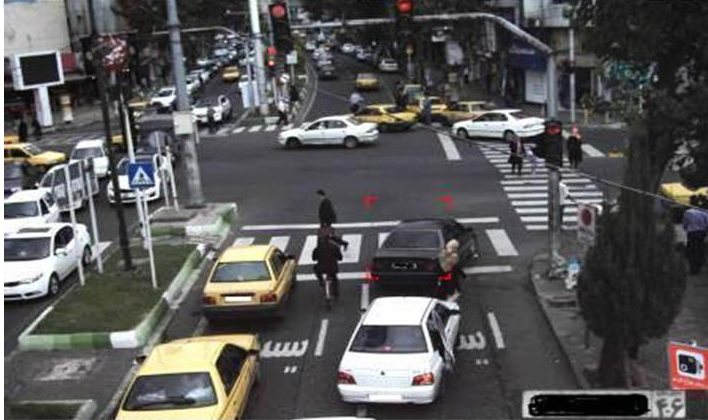 نظارت مستمر دوربینهای کنترل پلیس بر ترافیک شهر