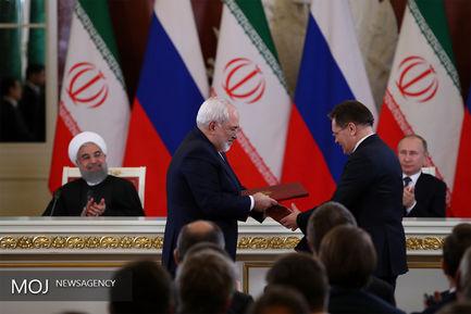 نشست خبری روسای جمهور ایران و روسیه