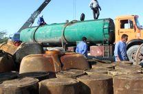 30 هزار لیتر سوخت قاچاق در بندرعباس به مقصد نرسید