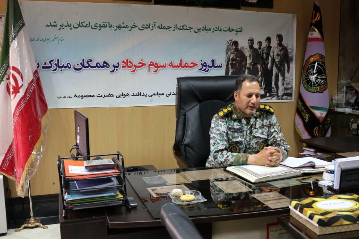 آزادی خرمشهر نتیجه وحدت و یکپارچگی نیروهای مسلح کشور، ارتش و سپاه بود