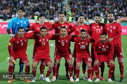دیدار دوستانه تیم های فوتبال ایران و بولیوی/عکس تیمی