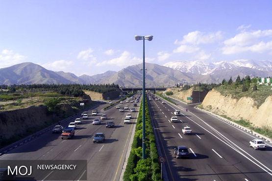 ترافیک نیمه سنگین در فشم - تهران