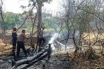 ۶۰ هکتار از باغ های شهرستان رودان در آتش سوخت/ خسارت سی  میلیارد ریالی به باغداران