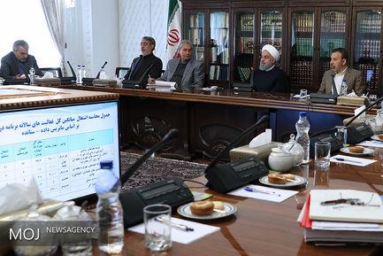 جلسه شورای عالی اشتغال با حضور رییس جمهوری
