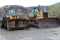 ارسال سومین محموله تجهیزات راهسازی از اصفهان به مناطق سیل زده درخوزستان