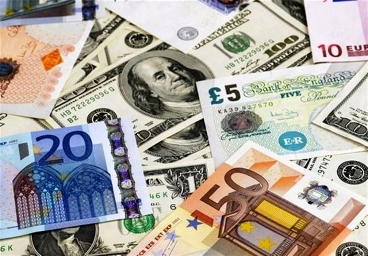 قیمت ارز دولتی ۲۵ آبان ۹۹/ نرخ ۴۷ ارز عمده اعلام شد