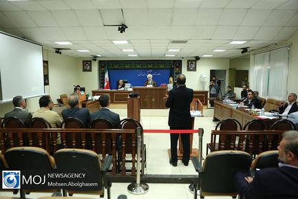 چهارمین جلسه دادگاه رسیدگی به اتهامات علی دیواندری و ۸ متهم دیگر