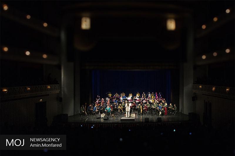 اجرای متفاوت در کنسرت ارکستر مجلسی ایران