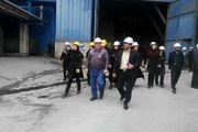 بازدید خبرنگاران گیلان از بزرگترین مجتمع ذوب آهن در ساحل جنوبی دریای خزر