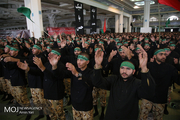 اجتماع هییت های عزاداری نیروهای مسلح در مصلای تهران