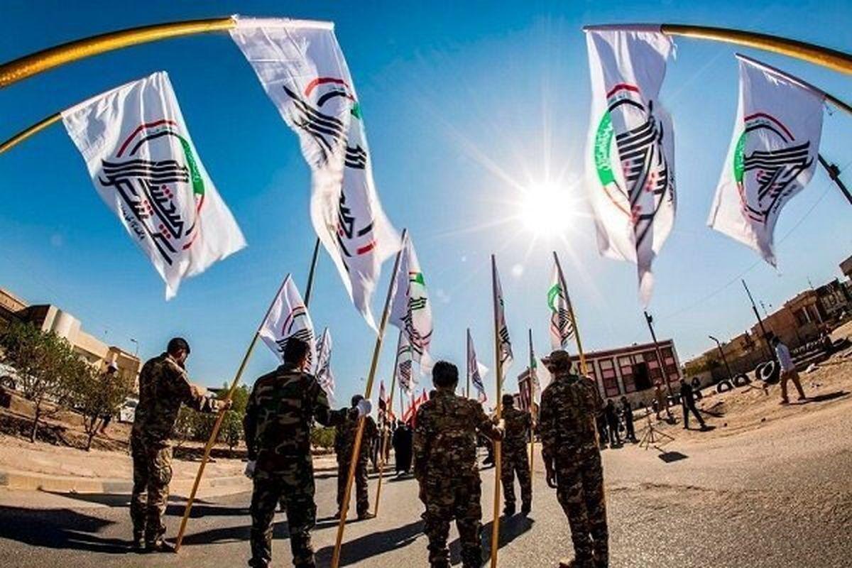 استقرار حشد شعبی در صحرای نجف به منظور حفاظت از زائران اربعین