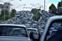 ترافیک نیمه سنگین در آزاد راه تهران-کرج