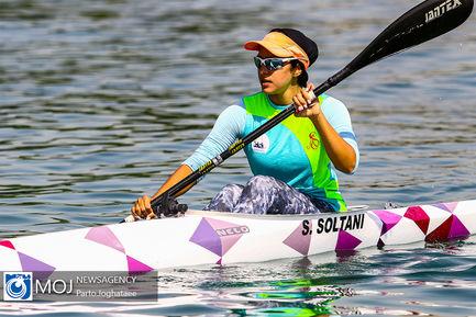 تمرین تیم ملی قایقرانی بانوان
