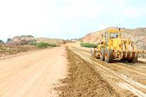 10 کیلومتر از رینگ جزیره هرمز آماده اجرای آسفالت شد