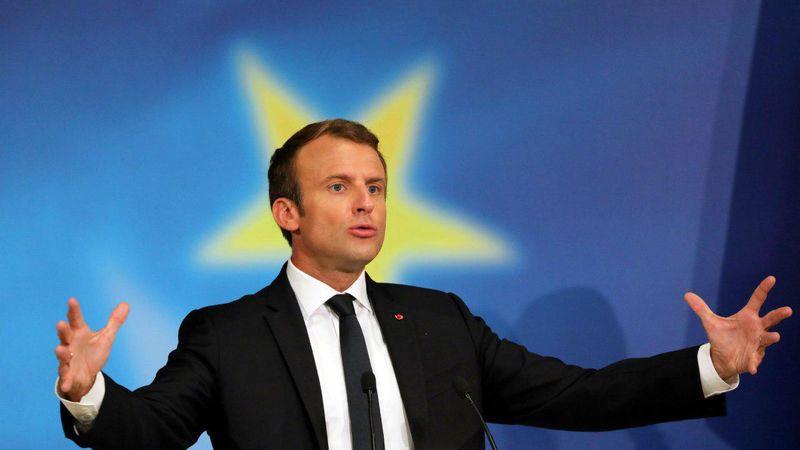 رئیس جمهور فرانسه خواستار آغاز گفتگوهای خاورمیانه شد