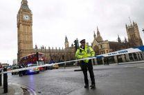 ۱۲ زخمی بر اثر تیراندازی در مقابل پارلمان انگلیس