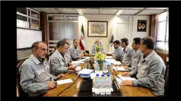 برگزاری جلسه تدوین مفروضات بودجه ٩٦ فولاد مبارکه