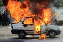 انفجار  کپسول یک سواری پراید در نجف آباد / مصدومیت 6 نفر