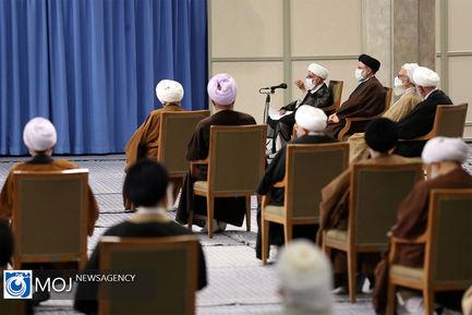دیدار اعضای مجلس خبرگان با مقام معظم رهبری