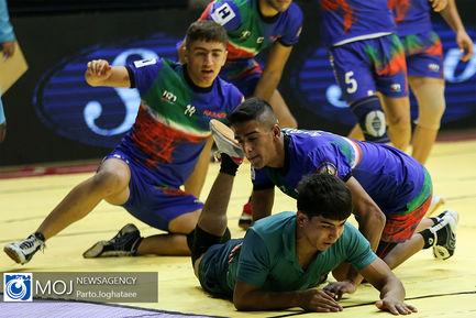 دیدار تیم های ملی کبدی جوانان ایران و ترکمنستان