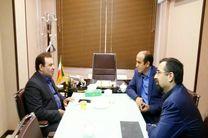 جلسه استاندار لرستان با مجری پروژهی سد بختیاری