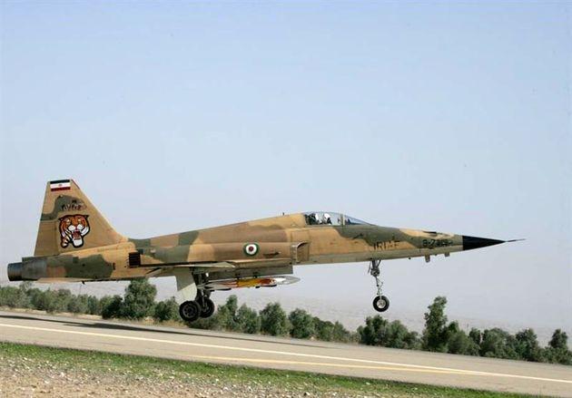تصاویر جنگنده اف 5 ایرانی منتشر شد