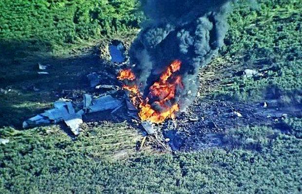 یک هواپیمای نظامی در فارس سقوط کرد