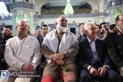 تجمع جهادگران بسیجی در مصلی حرم حضرت عبدالعظیم (ع)