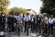 دوچرخه سواری سفرای مقیم تهران در روز جهانی صلح