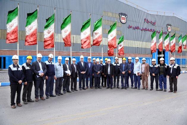 چهار طرح تولیدی و زیست محیطی شرکت ذوب آهن اصفهان به بهره برداری رسید