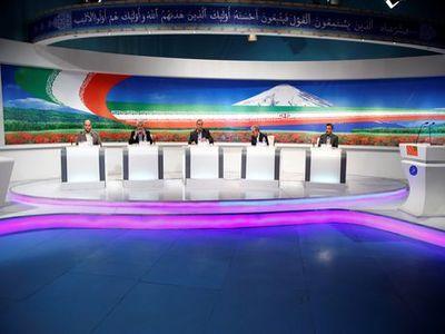 پخش مستقیم قرعه کشی نامزدهای انتخاباتی در مناظرهها