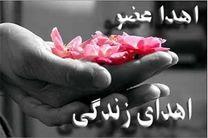 اهدای عضو مرد نایینی به 3 بیمار در اصفهان