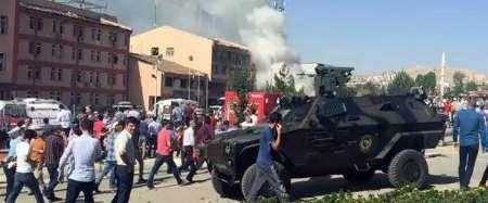 انفجار تروریستی در شهر الازیغ ترکیه