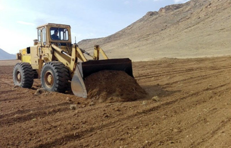 رفع تصرف از زمین های ملی در شهرستان جاسک