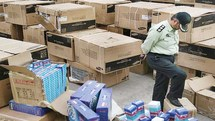 قاچاق 20 میلیارد ریالی در عوارضی تهران – ساوه کشف شد
