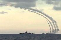 نیروی دریایی روسیه داعشیها را در نزدیکی تدمر با موشک هدف قرار داد