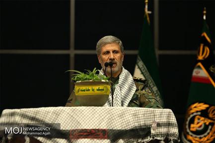 همایش بسیجیان وزارت دفاع